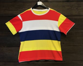 Vintage Striped Tee Shirt