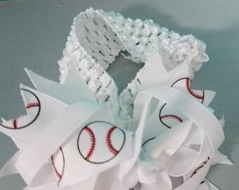 Infant Baseball headband!