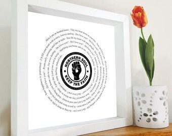 Frank Wilson - Do I love you framed song lyrics  - Vinyl lover | Christmas Gift | Northern Soul | Gift for dad | Music lover | Retro