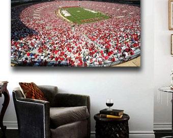 Alabama Football Stadium Canvas Print Large 36 x 24 Bryant–Denny Stadium