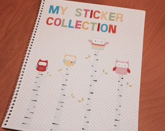 Whimsy Owl Sticker Book