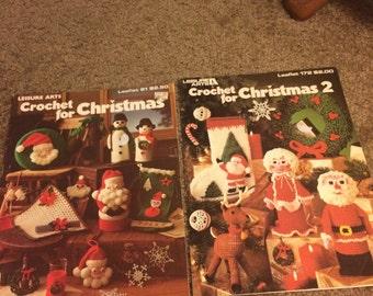 Crochet for Christmas 1&2 pattern books