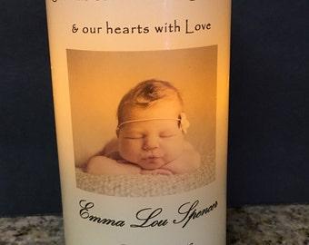 Baby Keepsake Candle