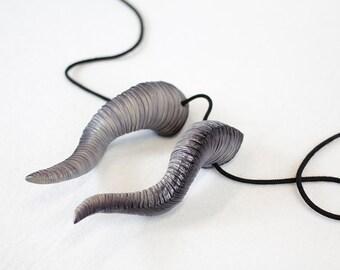 Custom Color - Small Dragon horns with custom color