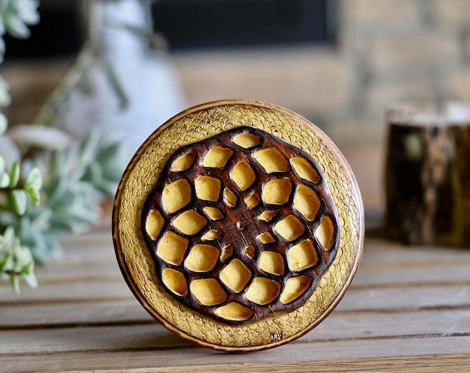 Handcrafted Wood Mandala