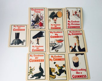 10 My Goodness My GUINESS Coasters/Guiness/Bar Coasters/10 Coasters