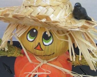 Scarecrow Pumpkin Gourd