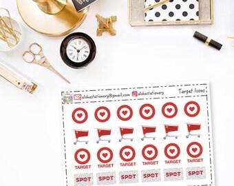Target Planner Stickers (Oopsies)