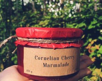 Cornelian Cherry Marmalade