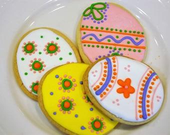 Easter Egg Cookies Item #1014
