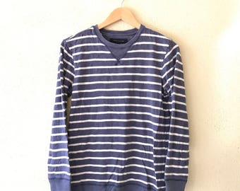 Rare !! Vintage 90s TOMMY HILFIGER Sweatshirt small logo Hip Hop swag  Fashion Wear multi colour small size (SW4)