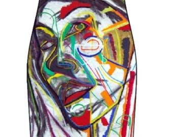 Couleur Vive Pencil Skirt