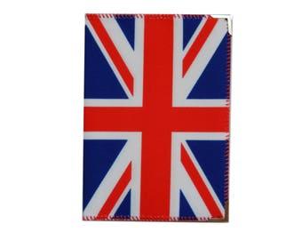 Britain Flag Passport Cover, Britain Travel Gift, Britain Printed Passport Holder, Cool Gift, Gift for Her, Mom Gift, Christmas Gift 1120
