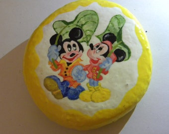 disney painted stone