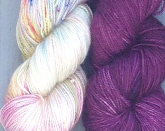 Sense & Sensibility, Jane Austen Set - hand dyed yarn