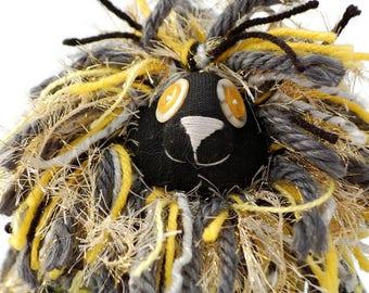 SparkleRay Lion, Handmade Plush Sock Lion Toy, Lion, 16 in tall Lion Doll, Sock Toy, Eco-friendly Lion, Sock Lion, Sock Monkey, Kids