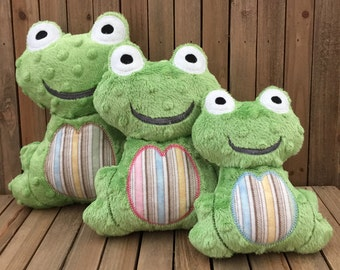 Frog Stuffed Toys, Plush Stuffed Frogs, Stuffed Toys, Baby Stuffed Animals, Soft Toys, Baby Gift