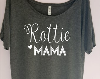 Rottie Mama Shirt, Rottie Lover Shirt, Dog Lover Shirt, Rottweiler Shirt, Pet Lover T-shirt, Dog Lover Gift, Pet Lover Gift, Christmas gift