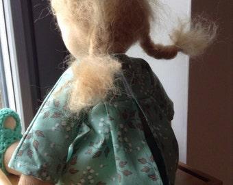 40 cm Waldorf inspired doll, waldorf doll by Ninna