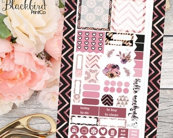 Rose Gold Glam | Personal Planner Stickers