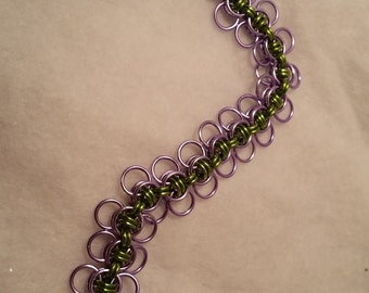 Celtic Wings Chainmaille Bracelet