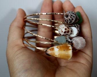 Hawaiian Cone Shell Bangle