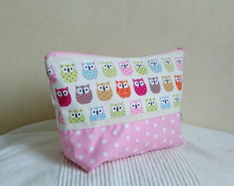 Child toiletry girl pink pea and reasons small owls