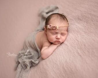 Knit Wool Dual Beanbag Backdrop,Pink, Powder Pink Photography Props, Uk Seller