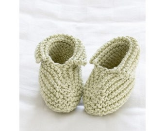 Knitting pattern baby booties/ PDF