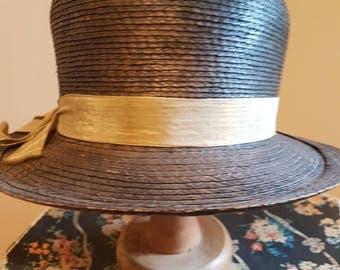 1920's genuine cloche hat