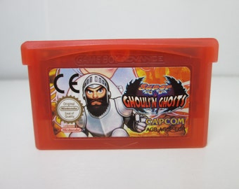 Super Ghouls 'n Ghosts fan made reproduction GBA