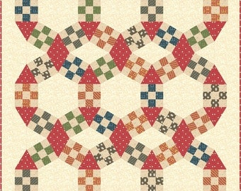 Jack' Chain Improved quilt pattern