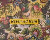 Reserved For Terri - Hand-Painted Dollshouse Miniature Jug & Bowl - Navy