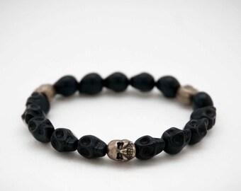 Bracelet death's head / Skull Bracelet Pk19