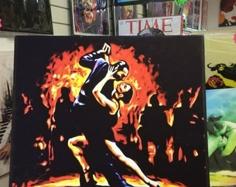 The Last Tango wall art canvas .... various sizes available