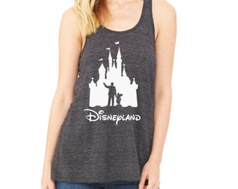 Disney Tank Walt & Mickey Partners Castle Shirt Disneyland Shirt Disney World Shirt Magic Kingdom Tank