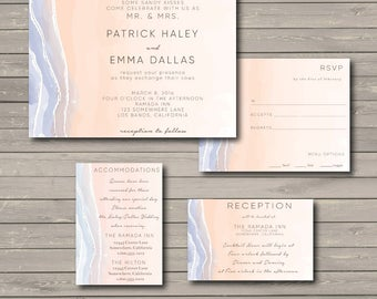 Wedding Invitation Ensemble