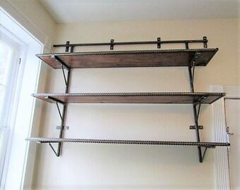 kitchen shelves office shelves reclaimed shelves bathroom