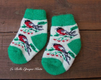 Wool socks girls, baby knit socks, Pure wool socks, Knitted wool socks, girls wool socks,
