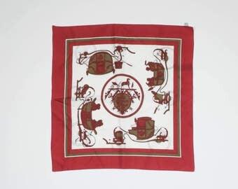 HERMES - Silk handkerchief