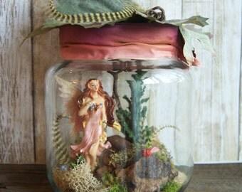 Fairy Jar » Fairy Figurines » Garden Fairies » Fairy Gifts » Gift Ideas » Faerie » Captured Fairy » Captive Fairy » Gifts for Girls