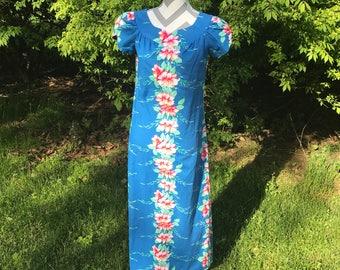 Vintage Paradise Isle Hawaiin dress. Made in Hawaii.