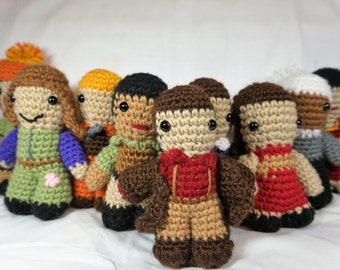 IttyBitty Complete Serenity Crew - Crochet