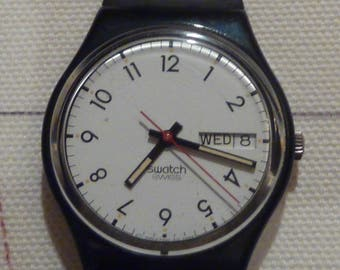 """1986 Swatch """"Classic Two"""" Watch"""