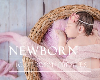 6 Newborn Lightroom Presets, Baby Photography Presets, Lightroom 6 Presets, Newborn Photography Presets, Newborn Lightroom Overlays