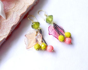 """The Swish"" colored earrings"