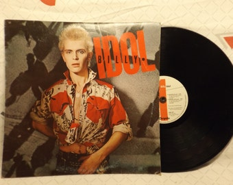Billy Idol Vinyl Record Debut Album 1982 Rock New Wave 80s Music Billy Idol Rebel Yell