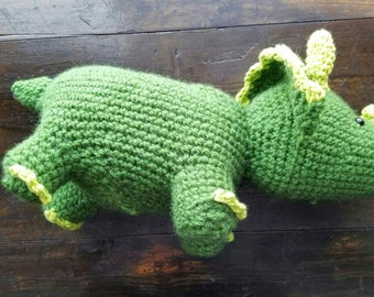 Stuffed triceratops