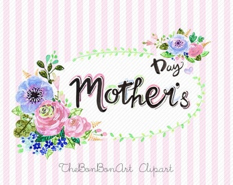 Mother's day clipart | Etsy