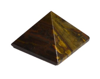 Tigers Eye Pyramid 25-30 mm